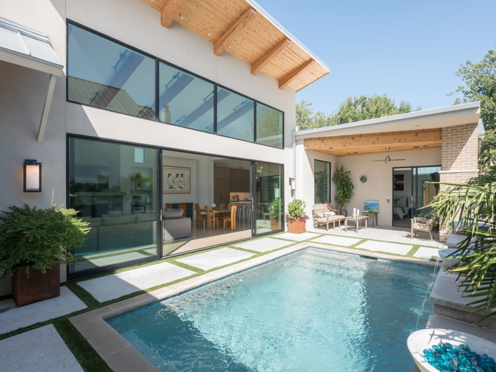 Coppell Modern Garden Home Main Image